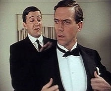 A young Hugh Laurie (and Stephen Fry) (: