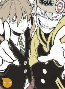 Soul Eater and Maka :)