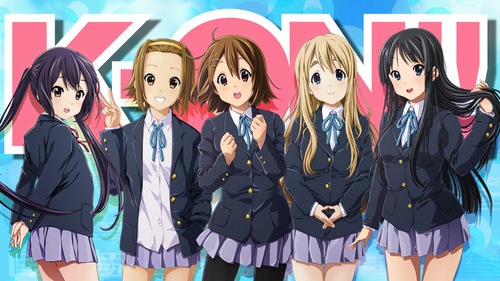 from K-On! they're all best 프렌즈 xD