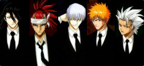 Bleach men (Black) I went with 'Characters', hope that is ok. :)