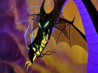 Maleficent because she's scary but cool at the same time plus, I would 사랑 to meet a real live dragon! Then probably Hades because he's funny.