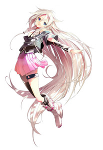 mine is IA ! please check her songs she's still new but her songs are so awesome and her voice is so pretty :)