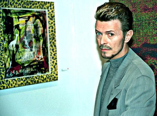 Bowie + art