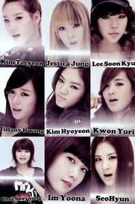 Taeyeon Tiffany Hyoyeon Sooyoung Yoona