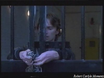 behind the bars (according the role of course)