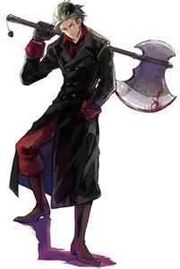 DENMAAAAAAARK!!! Red and Black~!