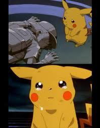 truthfully i try not to cry during anime's. i'll admit i cried during the movie Flicka. I cried a little bit during the pokemon movie though