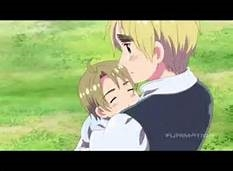 I cried during.. हेतालिया Pandora Hearts I cried when England first held baby America in his arms. ;-;