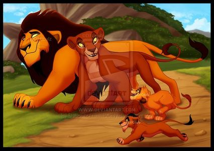 All lion cubs get their looks from their parents. Mufasa and Scar's parents were Ahadi and Uru. Scar got his colour from Uru, and black men from Ahadi. Mufasa got his colour from Ahadi, and to make him good looking, his creators made his mane red, or, Uru's mane(if she was a male) must be red, and Simba got his red manes from Mufasa.