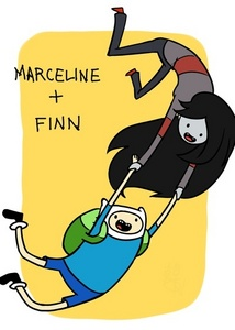 """Marceline is just better!  It's like they say: vote if you really love something, release it and let it go. If it returns to you then it really loves you back and it belongs to you forever, but if it does not return to you then it never really belong to you in the first place.""""  I think that Marcilene really loves Finn and is willing to let him go hoping that he will return. She's willing to let him go waste his time with flame princess and PB because he will eventually come back to her because she's the best. And she has enough time in her life span to be able to do that. And Finn is worth it."""