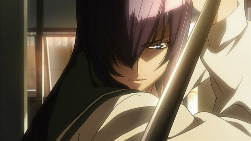 Saeko Busujima from Highschool of the Dead