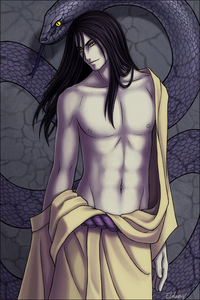 Lord Orochimaru (Naruto) - Can't help it. I like my bad guys.