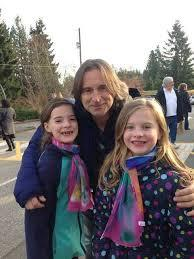 with his little fans :D