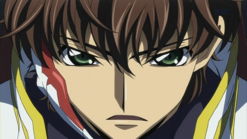 "I was waiting for this. I tend to hate male characters Mehr often than female characters, so.. Suzaku Kururugi from Code Geass. He's just so... [i]foolish[/i], not to mention hypocritical and self-righteous. The whole time he was going into things blindly, attempting to be a ""valiant knight for justice"", and, as I said, he was going into things [i]blindly[/i]. I actually really liked Suzaku in the first season of Code Geass, but in R2 I wanted to slap him even harder with every episode I viewed. I [i]can[/i] like a self-righteous character, [i]if[/i] they don't exaggerate their emotions to the extent where the validity of their actions are erased and no longer understandable. He was such an idiot."