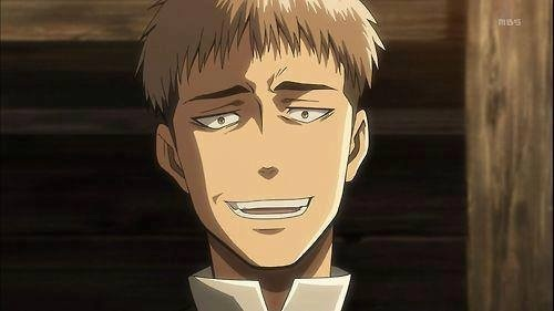 Jean Kirschtein from Attack on Titan. He makes some pretty funny faces.