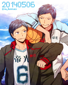 Aomine Daiki from Kuroko no Basuke. His outgoing, good in sports, love to go to the mountains (nature), bad in studies, proud and lazy. Well for me, I'm silent, creepy ( my classmate calls me ), quite bad in sports, meer like an indoor person, ( not trying to boast but ) good in studies ( I'm in the 'best in academics' class in a renowned school ), low - self esteem and pretty hard working.