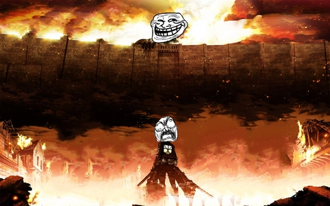 Attack on Troll.