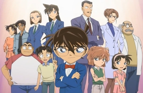 Meitantei(Detective) Conan. They changed it into Case Closed. You can watch the changes here: http://www.detectiveconanworld.com/wiki/Characters