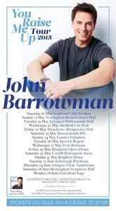 John's tour poster for अगला year! bsafhjbhashfbhasbhjbfas