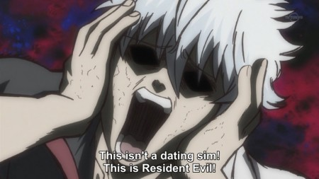 """Gintoki Sakata! ~He was Nicknamed """"Shiroyasha"""" (White Demon) back in his war days, because of his white hair, white clothes, and his demon like sword style X3"""