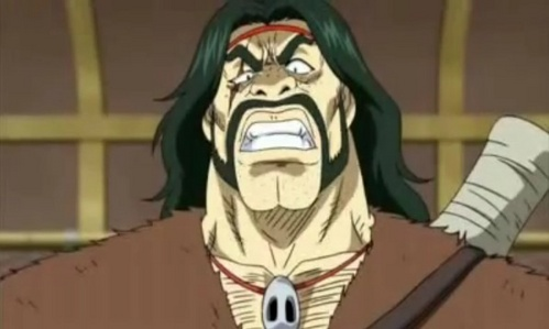 Zonge aka Zombie from Toriko