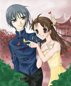 Fruits Basket, and I would change for Yuki to be with Tohru instead of Kyo
