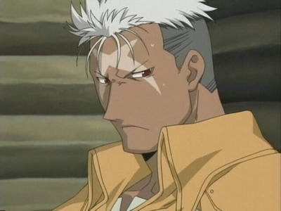 Post A Picture Of An Black Anime Character With White Hair 3