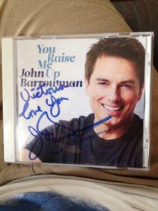 My CD signed سے طرف کی John Barrowman yesterday :3