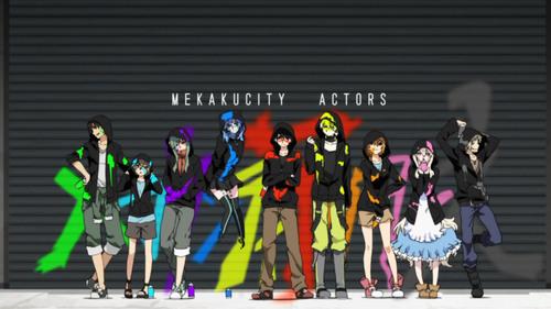 Mekakucity Actors.