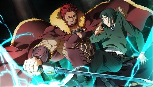 Fate/Zero. It's pretty awesome, so far! =^^=