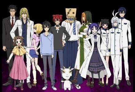 1. Shiki 2. Elfen Lied 3. Yami Shibai 4. Naruto/Naruto Shippuden 5. Cuticle Detective Inaba 6. Another 7. DuRaRaRa!! 8. InuYasha 9. Ouran High School Host Club 10. Diabolik những người đang yêu