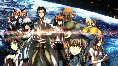 Steins Gate. I already started Sword Art Online 3 months ago..but only finished 3 episodes