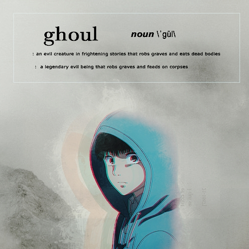 Tokyo Ghoul (picture) and Danganronpa.