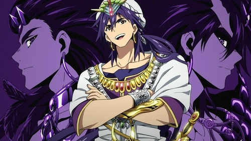 Sinbad king of sindria from Magi labyrinth of magic! :)
