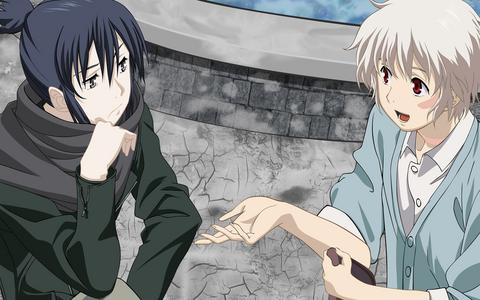 No. 6 anime, both Nezumi and Shion