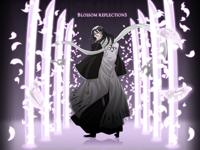 Byakuya Kuchiki (Bleach) he is super fast with his flash step......he he he