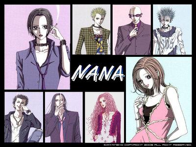1.Nana 2.Ranma 1/2 3.Aishiteruze Baby 4.Ghost Hunt 5.Seto no Hanayome 6.Okami - san and her seven companions 7.Fairy Tail 8. Inuyasha 9.Bamboo Blade 10.Death Note