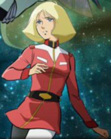 Artesia Som Deikun(aka Sayla Mass) Maybe te can answer this: http://www.fanpop.com/clubs/dynasty-warriors-gundam/answers/show/534472/what-playable-characters-mobile-weapons-would-like-play-next-game-after-rebirth