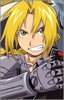 Edward Elric from Fullmetal Alchemist/Brotherhood.
