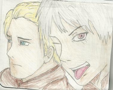 is that a bad paint fail of Germany....? i c u Germany, und i raise u my hand-drawn Germany und Prussia!