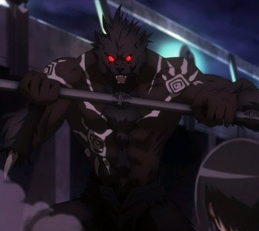 """Vlad from """"Aria, the Scarlet Ammo""""."""