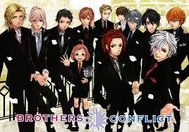 Gah! I'm not obsessed with The Asahina bros. (Brother's conflict) Thats the list. There's 13.