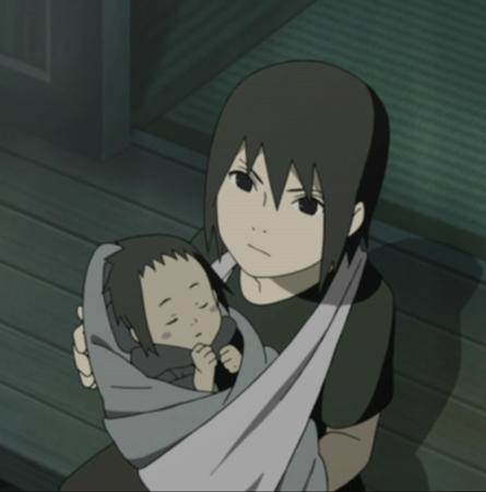 Itachi with Baby Sasuke (Naruto Shippuden)