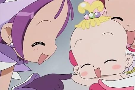 Onpu and Hana!