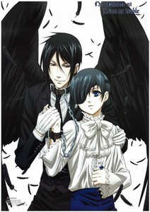 Of course I'm not obsessed with every single character from both death note and 《黑执事》 . . . Of course I'm not . . .