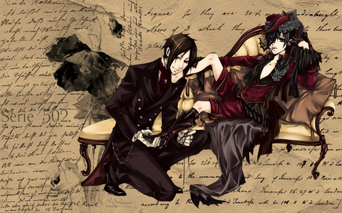 LOL I really wouldn't know what I would do xD Probably freak out Ciel and Sebastian are both my faves (^w^)
