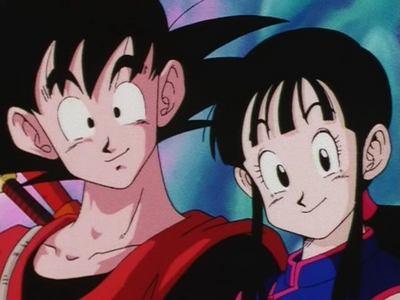 Goku and Chi-Chi (Dragon Ball)