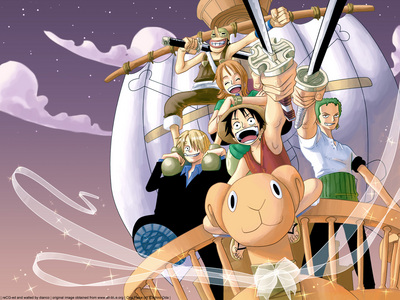 One Piece when i saw OP first few eps i thought it was a booooring anime......i didnt like its animasi as well.......then my brother Bp......he berkata just be patient..the lebih eps u pass the lebih interesting it gets..........i took his word and continued watching.....and the lebih eps i passed i amazed thinking my bro is right.........bcz OP started getting lebih and lebih interesting.........now OP is in one of my puncak, atas 3 animes........hee he eh if i missed that anime it will be a great loss for me......... i really have to thank my bro for recommending it......he he he after that i recommended this anime to many friends of mine some of them refused without watching.......im not telling their name and i told them as a challenge to watch some episode which i told them to watch they took my word and watched now they r crazy fan of OP like me...........all credits to OP.........and still OP is interesting and its still getting lebih and lebih interesting........he he eh peope who havent watched op i really recommend it......if u havent watch i will really recommend it.......eh he eh One Piece is a great anime with great comedy.....action ...adventure.......great story line......... Luffy's comedies rocks........he he eh cinta his jokes...........he he eh and action scenes are the best especially action scenes of luffy, zoro, mihawk, shanks, whitebeard, sabo, Law.......there is more........eh he ehhe..