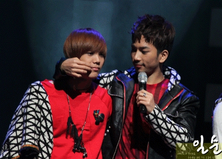 My first choice would be G.O because.... he is freaking funny and he just makes everything better, also he is just really unique to me, and he will sing me a ballad because his voice is mmmmmmm. But I also would choose Mir because he is very very special (Yeah special) and he is cute and he is weird I like weird and he is also unique and can rap me a pag-ibig song because yes.