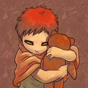 Gaara's childhood T^T He had a miserable childhood